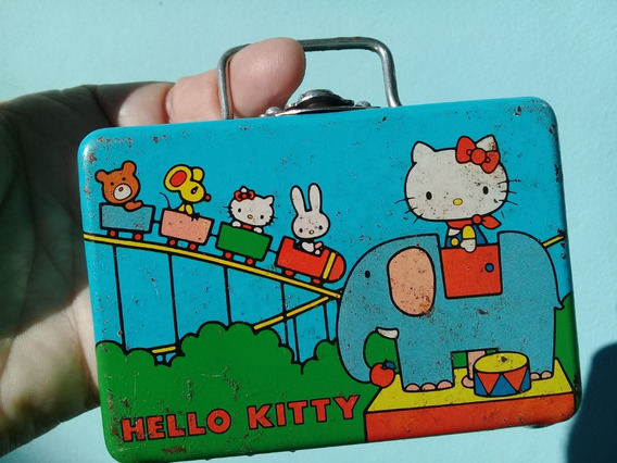 Lunchera Hello Kitty 1976 De Chapa Japan