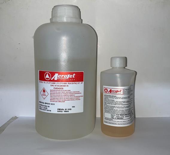Resina Epoxi 031 + Endurecedor 024 - Conj Com 1,130 Kg