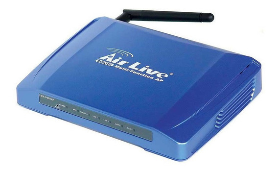 Access Point Inalambrico Multifuncion Poe Airlive 54mbps