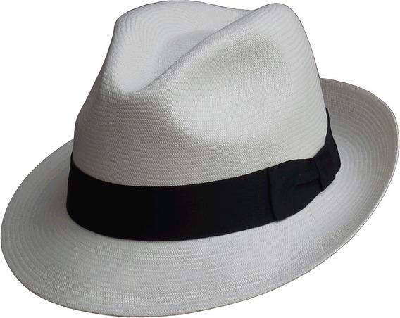 Sombrero Paja Toquilla Extrafina Tejido A Mano Ref. Panameño