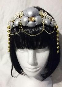 Tiara Rainha Sereia- Prata
