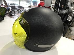 Capacete Bell Custom 500 Black Flake C/ Viseira