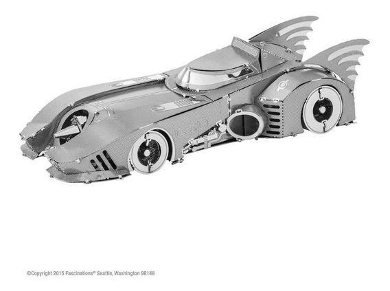 Mini Réplica De Montar Batman Carro 1989