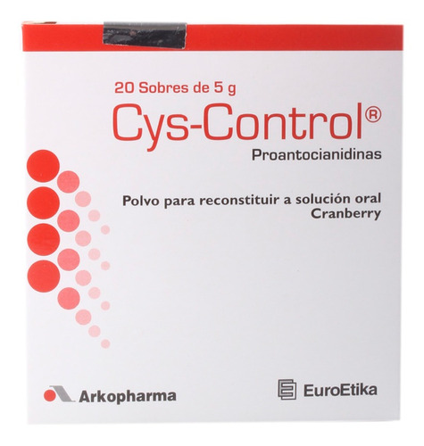Cys-control 5 Gr Caja X 20 Sobres