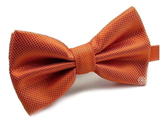 Corbata De Moño Clasico Para Hombre Grin Accs Color Naranja