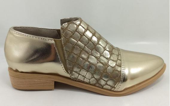 Zapato Clásicos Dama Mocasín Taco Bajo Isabela Moda Verano20
