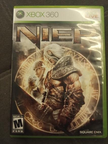 Nier Xbox 360 Original Raro Impecável