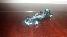 Miniatura Fórmula 1 1:43 Mercedes Fi W07 Amg Petronas Burago