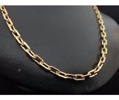Cordao Em Ouro 18 K Modelo Cartier Cadeado