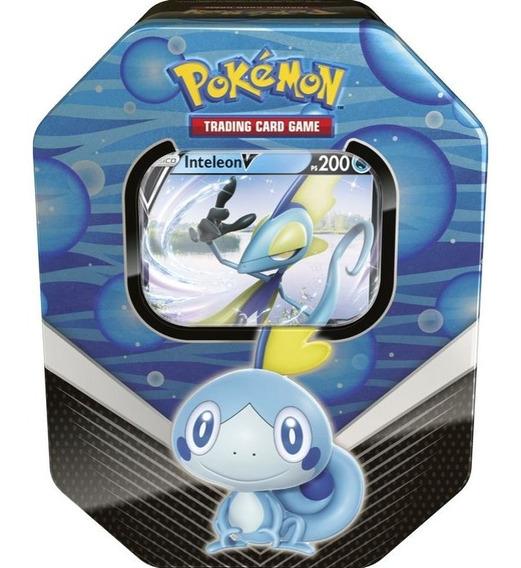 Pokémon Cards Lata De Galar Inteleon Cartas Pokemon Sword Gx