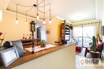 Apartamento Com 3 Dormitórios À Venda, 95 M² Por R$ 350.000,00 - Jardim Das Indústrias - São José Dos Campos/sp - Ap0203
