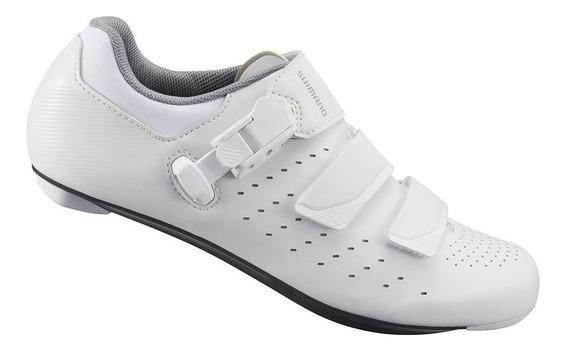 Zapatillas Para Ciclismo - Shimano Rp301 Women Blanco - Ruta