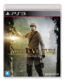 Adams Venture Chronicles Ps3 Mídia Física Lacrado Original