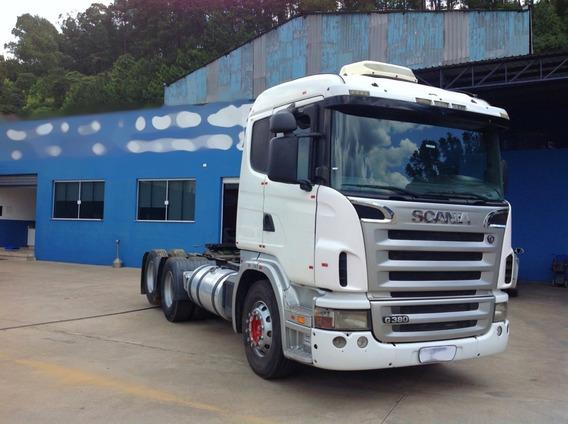 Scania G380 G 380 6x2 Trucado 2010 Baixo Km = P340 P360 R420