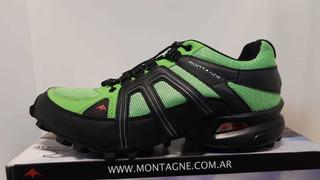 Zapatillas Montagne Volcano Hombre Verde
