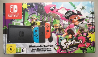 Consola Nintendo Switch Neon 32gb Joystick Pro Smash Bros +