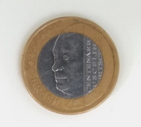 Moeda Comemorativa Juscelino Kubitschek Coleção Raridade Mbc