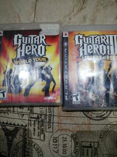 Guitar Hero 3 Y World Tour