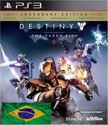 Destiny The Taken King Legendary-ps3-digital Envio Imediato
