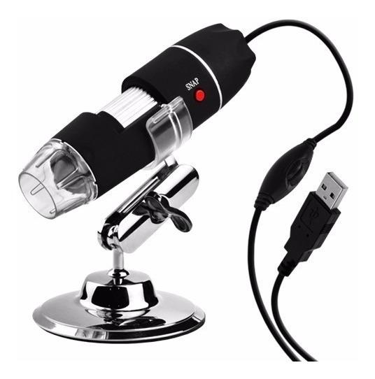 Microscópio Digital Zoom 1600x Câmera 2.0 Mp Usb