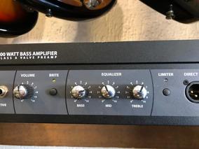 Cabeçote Hartke Para Baixo Pre Amp Lh1000 Mostruario
