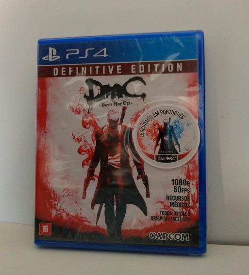 Devil May Cry Definitive Edition Ps4 Mídia Física Lacrado