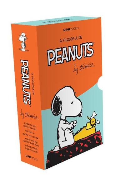 Box - Especial A Filosofia De Peanuts - 5 Livros - Pocket