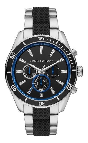 Relógio Masculino Armani Exchange Enzo Prata - Original