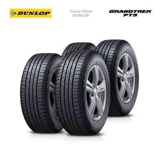 Kit X4 225/55 R18 Dunlop Grandtrek Pt3 + Tienda Oficial