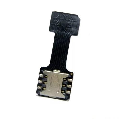 Imagem 1 de 6 de Adaptador Slot Hibrido Dual Chip Micro Sd Nano E Micro Chip