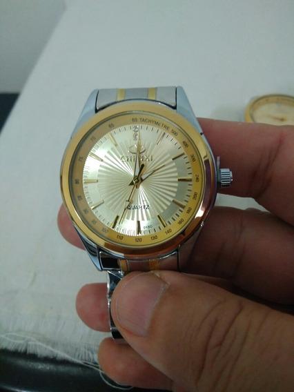Relógio Masculino Chenxi Dourado Analógico