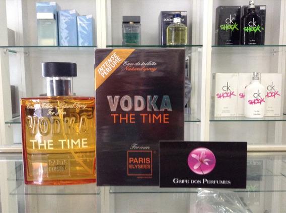 Perfume Vodka The Time Edt 100ml Paris Elysees (hermes)