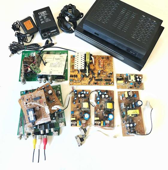 Peças Eletrônicas Para Aproveitamento Ou Projeto Eletrônico