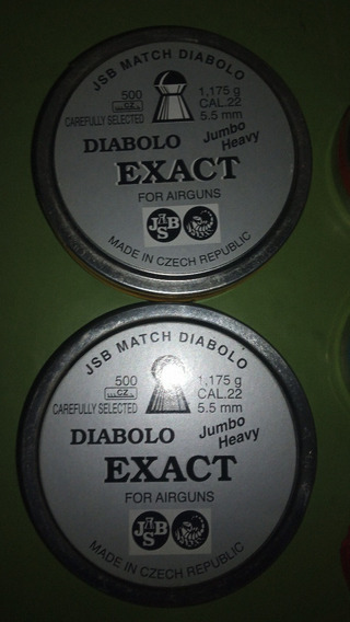 Diabolos Varios Jsb, Predator, Green Monster, 5.52mm, 4.52mm