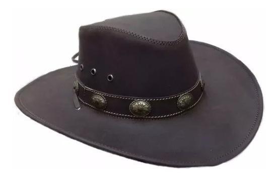 Sombrero De Piel Country- Rockero- Chopper Café