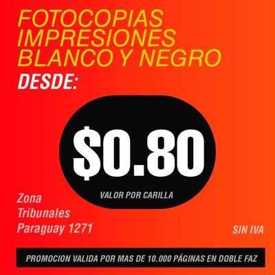 Impresiones Blanco Negro Color Paraguay 1271