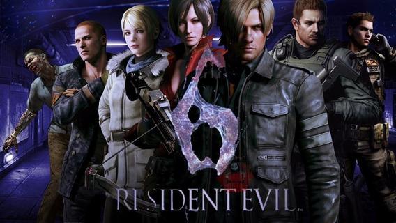 Re6 Resident Evil 6 Portugues Pt - Br Ps3 Psn Midia Digital