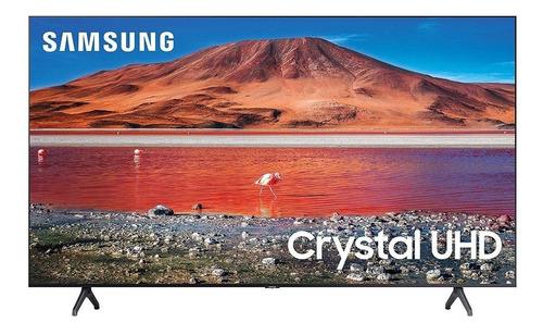 "Imagen 1 de 5 de Smart TV Samsung Series 7 UN75TU7000FXZA LED 4K 75"" 110V-120V"