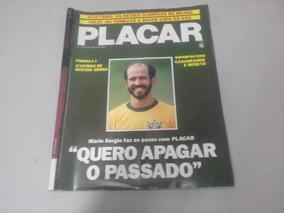Revista Placar Nº 779 - Abril De 1985 - Poster Bebeto E Casa