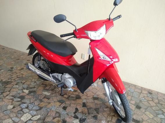 Honda Biz 125 Es Ano 2010 Vermelha Partida Elétrica