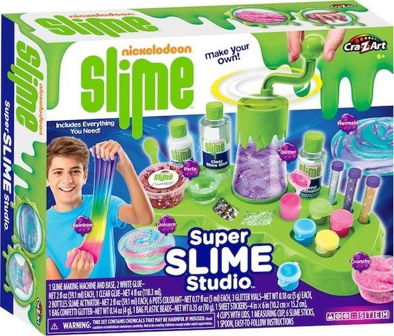 Slime Nickelodeon Super Studio Fabrica Ultimate Laboratorio
