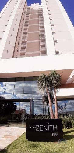 Apartamento Com 3 Dormitórios À Venda, 124 M² Por R$ 919.000,00 - Andrade - Londrina/pr - Ap0413