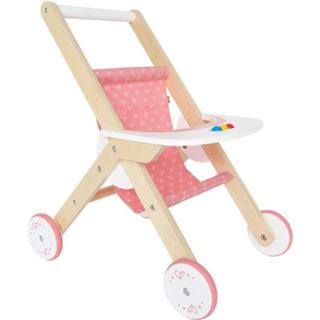 Hape Babydoll Stroller Toddler Doll De Madera Juego Muebles