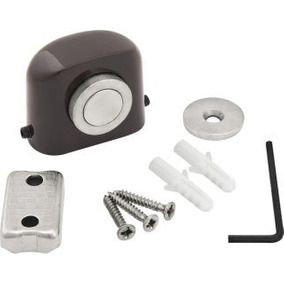 Kit 09 Fixador De Porta Magnético Marrom Fp600 Vonder Marrom