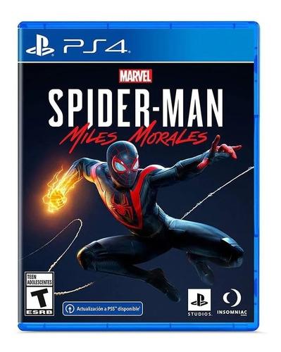 Spiderman Miles Morales Ps4 Juego Original Fisico Sevengamer
