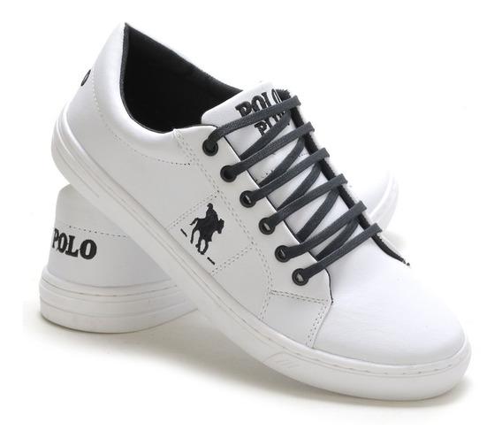 Sapatenis Tenis Masculino Polo Plus Original!!!