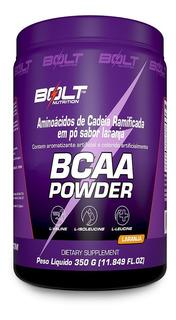 Bcaa 350g Limão - Bolt Nutrition