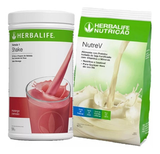 Combo 1 Shake + 1 Nutrev Herbalife + Frete Grátis!