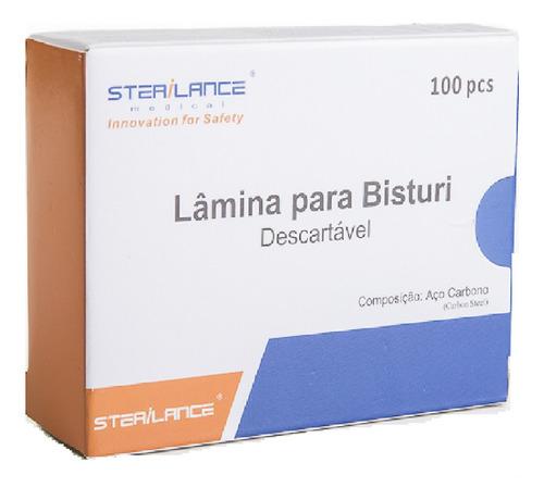Lamina De Bisturi N 20 C/100 Unidades