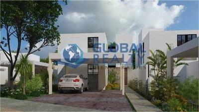 Casa En Venta En Privada , Conkal Zona Altabrisa. Cv-5490